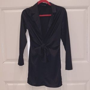 Missguided low cut dress